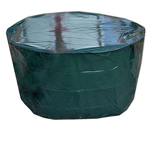 Sanfor Schutzhülle für Gartentisch Rund Premium-Möbel-Abdeckhaube - Durchmesser 160 cm - hoch 80 cm