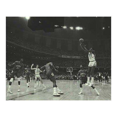 NCAA Michael Jordan North Carolina Tar Heels Foto (Größe: 20,3 x 25,4 cm)