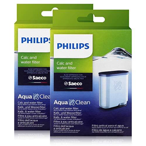 2 x Saeco AquaClean Kalk- und Wasserfilter