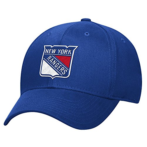 Reebok NHL Herren Basic Pro Shape Flex Cap, Herren, blau, Small-Medium