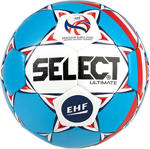 Select Ultimate Ball für Erwachsene, Unisex, Blau/Weiß, Senior (3)