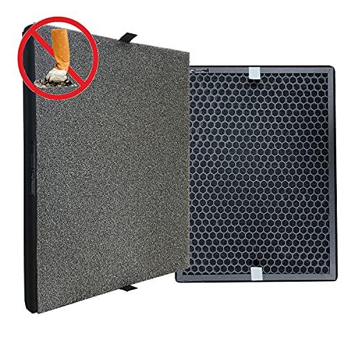 Comedes Raucher Filter-Set für Philips AC2889, AC2887, AC2882 und AC3829/10 Luftreiniger | Einsetzbar statt Philips FY2422/30 und FY2420/30