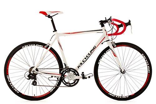 KS Cycling Rennrad 28'' Euphoria weiß Alu-Rahmen RH 62 cm