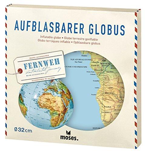 moses. Fernweh Aufblasbarer Globus   Weltkarte