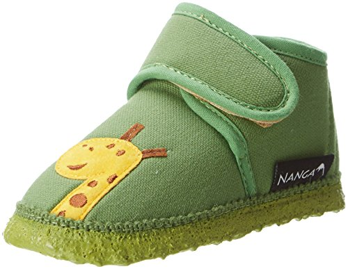 Nanga Baby Hausschuh AFFE grün 23