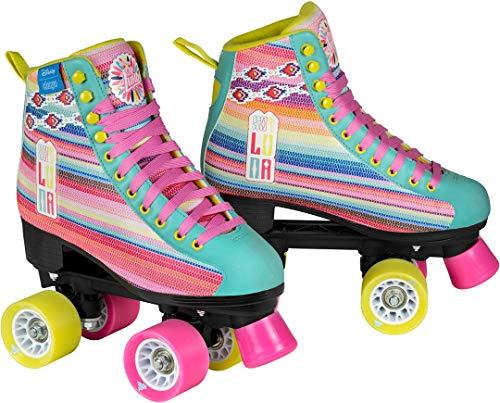 Disney Soy Luna LTD Edition Rollschuhe Rollerskates Kinder Rosa Pink Kids Mädchen Skates Inline Rollerblade (33)