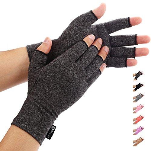 Duerer Arthritis Handschuhe - Compression Handschuhe f¡§1r Rheumatoide & Osteoarthritis - Handschuhe bieten arthritische Gelenkschmerzen Linderung der Symptome - M?nner und Frauen(Schwarz, S)