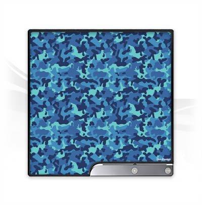 DeinDesign Skin kompatibel mit Sony Playstation 3 Slim CECH-2000-3000 Folie Sticker Tarnmuster Camouflage Bundeswehr
