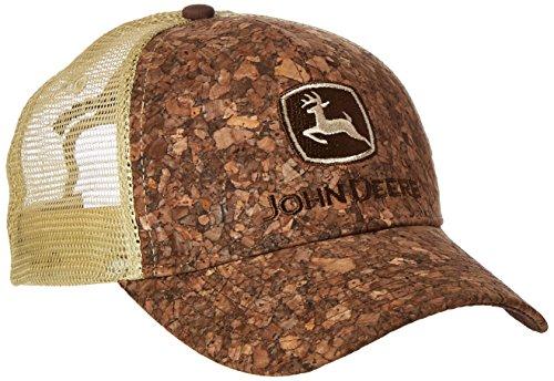 JOHN DEERE Unisex-Erwachsene Cork Baseball Cap, braun, Einheitsgröße