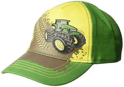 John Deere Boys' Toddler Baseball Cap, Green/Yellow