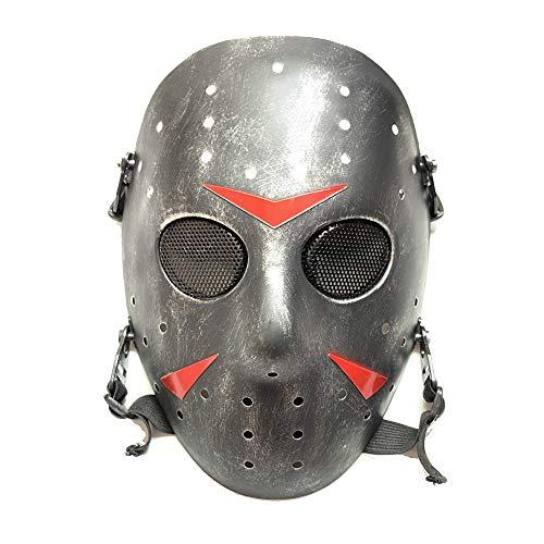 WorldShopping4U Stilvolle Jason Horror Terror Hockey Maske Furchtsame Halloween Maske Partei Maske SB