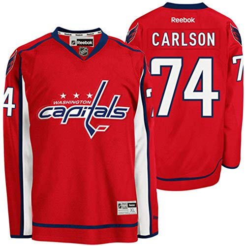 Reebok NHL Eishockey Trikot Jersey Premier Washington Capitals John Carlson #74 (XL)