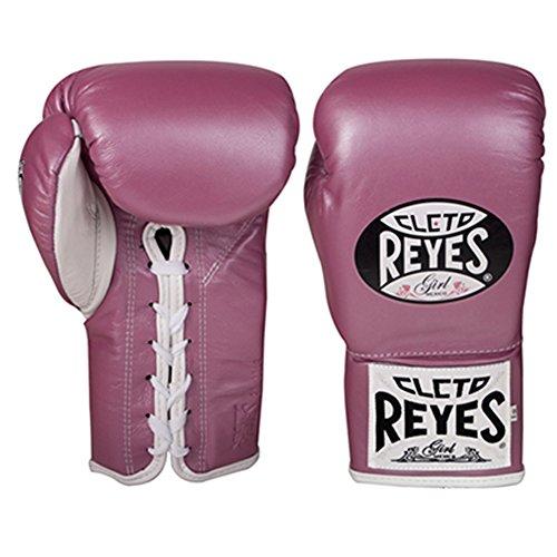 Cleto Reyes Boxhandschuhe für Kampfsport, 8–10 Unzen, Pink (Safetec), 8-Ounce