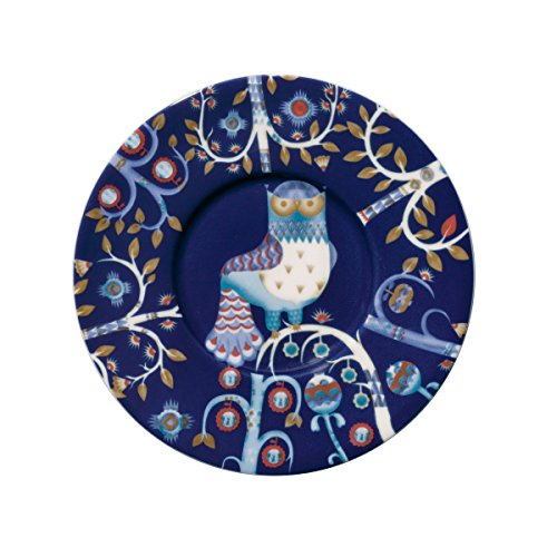 Iittala 1012475 Taika - Kaffee Untertasse - Porzellan - Ø 15 cm - Blau