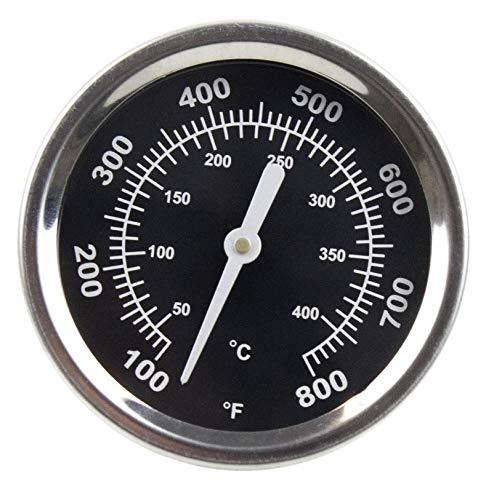 SANTOS Thermometer für Gasgrills, Holzkohlegrills, Grills rund