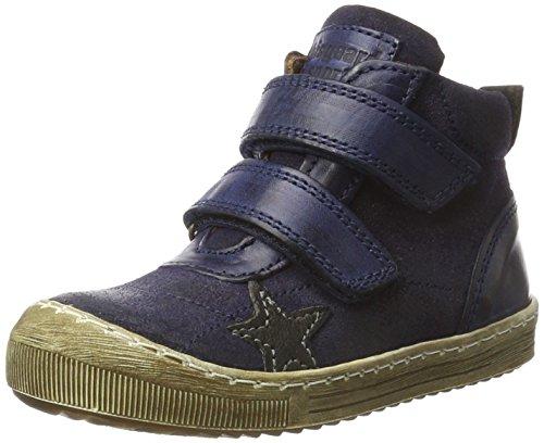 Bisgaard Unisex-Kinder Klettschuhe Hohe Sneaker, Blau (606 Blue), 30 EU