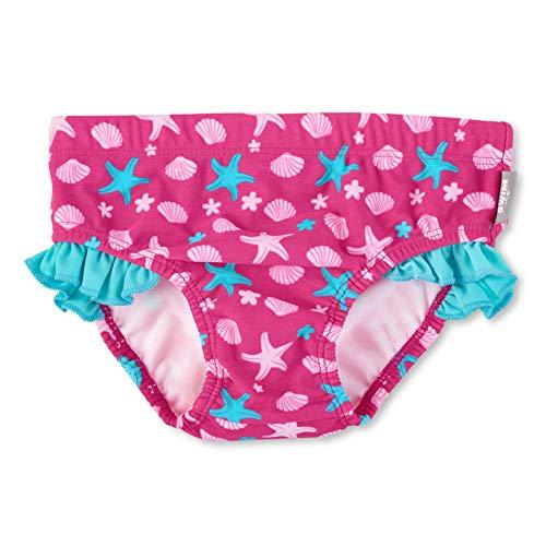 Sterntaler Mädchen Badehose, UV-Schutz 50+, Alter: 3-4 Jahre, Größe: 98/104, Farbe: Magenta