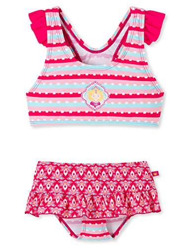 Schiesser Mädchen Prinzessin Lillifee Bustier-Bikini Badebekleidungsset, Mehrfarbig (Multicolor 1 904), (Herstellergröße: 116)