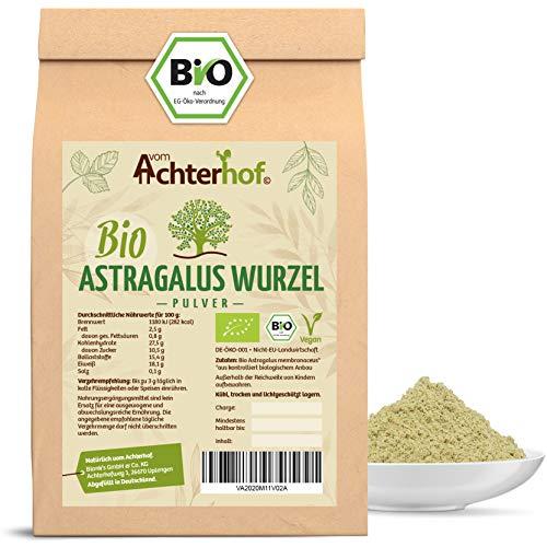 Astragalus Wurzel Pulver Bio   500g   Tragant-Wurzel-Pulver   100% naturrein ohne Zusätze   Tragacantha Membranaceus Wurzelpulver  