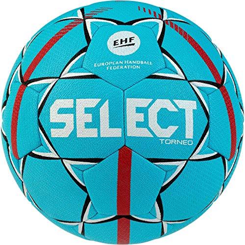 Select Unisex Jugend Torneo Handball, Tuerkis rot, 0