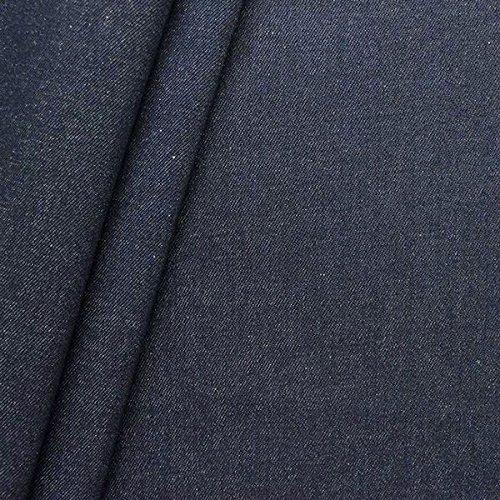 100% Baumwolle Denim Jeans Stoff schwere Qualität Meterware Indigo-Blau