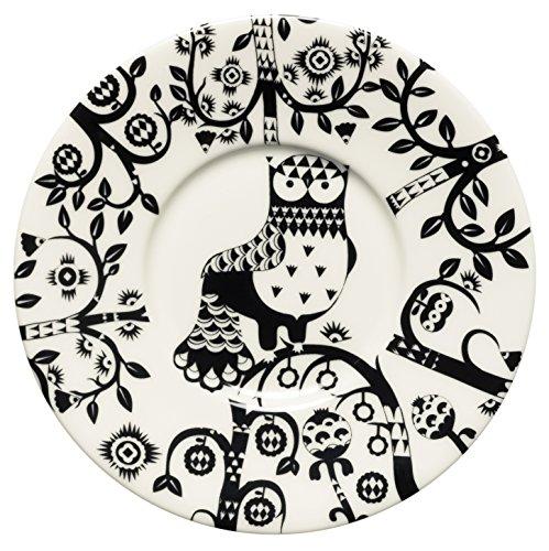 Iittala Taika Untertasse, Porzellan, schwarz, 15 cm
