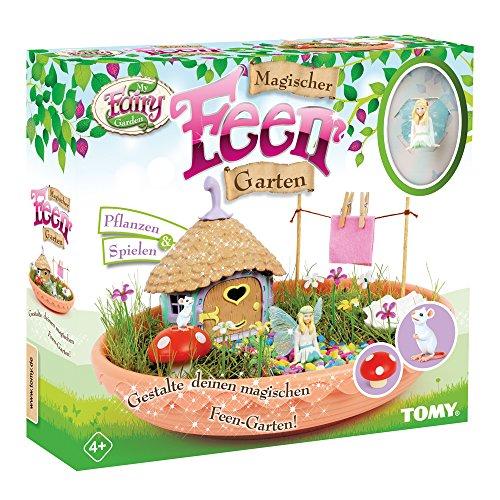 My Fairy Garden Spielzeugset - Magischer Feen-Garten für Kinder ab 4 Jahre zum selber Pflanzen & Spielen, 1 x Set Feen-Garten inkl. Grassamen