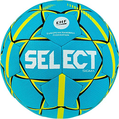 Select Unisex Jugend Sigma Handball, Tuerkis gelb, 0