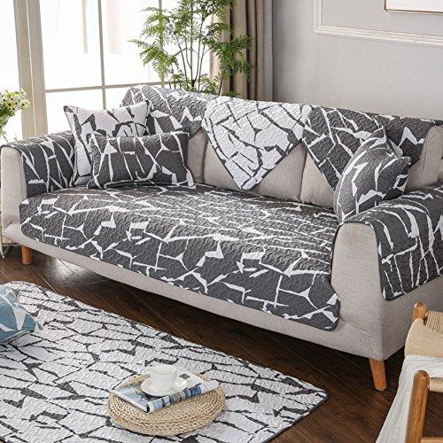 DIGOWPGJRHA Sesselbezug für Tiere, Slip deckt für Sofa Handtuch Sofa Set Sofa Handtuch Sers-Sofa für Wohnzimmer Sesselschoner Chunk Armbänder 90x90cm(35x35inch) C