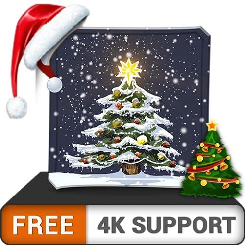 free beauty Christmas Tree HD - dekorieren Sie Ihr Zimmer mit einer wunderschönen Kulisse auf Ihrem HDR 4K-Fernseher, 8K-Fernseher und Feuergeräten als Hintergrundbild, Dekoration für die Weihnachtsfe