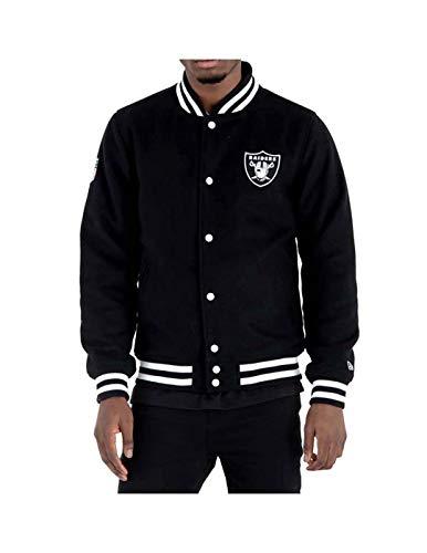 New Era Herren Oakland Raiders Collegejacke schwarz S