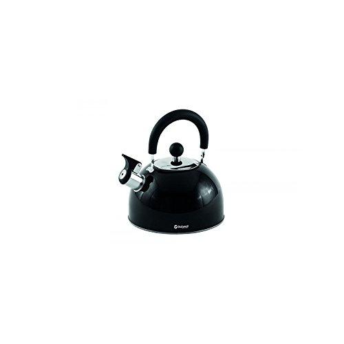 Relags Outwell Edelstahl Kessel, schwarz, 2.2 Liter