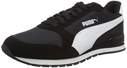 PUMA Unisex-Erwachsene St Runner V2 Nl Sneaker, Schwarz (Puma Black-Puma White), 45 EU(10.5 UK)
