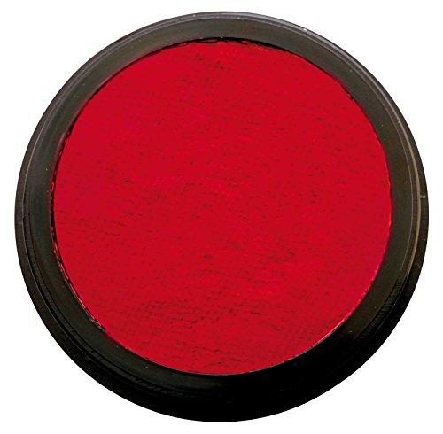 Eulenspiegel 185766 - Profi-Aqua Make-up Schminke - Rubinrot - 20 ml / 30g
