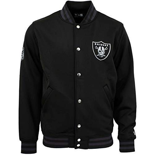 New Era NFL Varsity Oakland Raiders Collegejacke Black