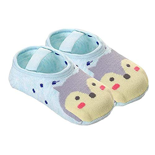 Maufy 1 para Nette Karikatur Baby rutschfeste Baumwolle Kleinkind Boden Socken Baby Slipper Socken Kleinkind Kinder rutschfeste Boden Socken Stiefel Mokassin Stil Funky