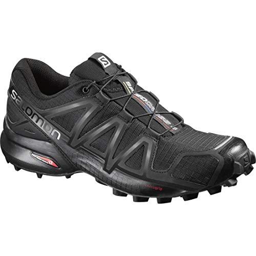 Salomon Damen Trail Running Schuhe, SPEEDCROSS 4 W, Farbe: schwarz (black/black/black metallic) Größe: EU 36 2/3