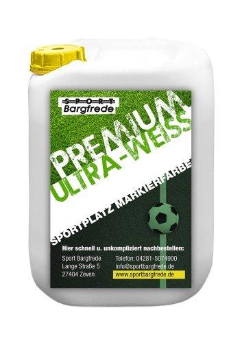 Sport Bargfrede Rasen Markierungsfarbe Premium Ultra-Weiß