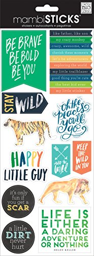 Specialty Stickers-Stay Wild