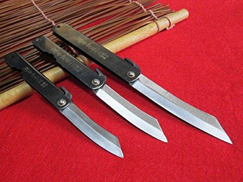 3Messer M/L/XL Higonokami Japanische Falttasche Messer / Chrome