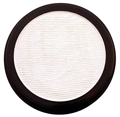 Eulenspiegel 181003 - Profi-Aqua Make-up Schminke - Weiß - 20 ml / 30g