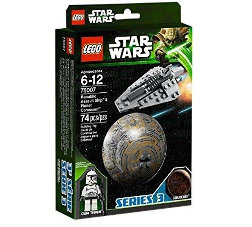 LEGO Star Wars 75007 - Republic Assault Ship und Coruscant