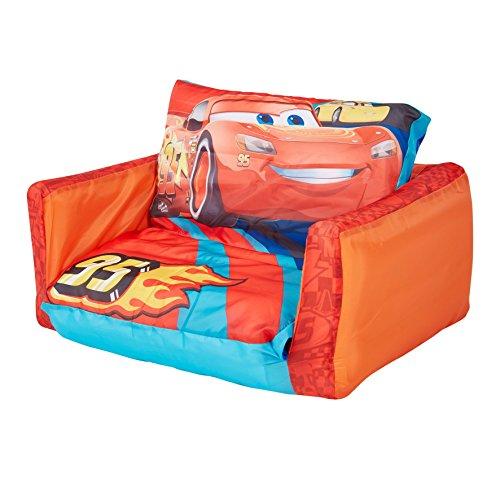 Disney Cars - Ausziehbares Minisofa - Aufblasbares Sofa und Liegestuhl (2-in-1)