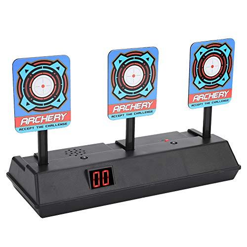 Zielscheibe, Automatische Wiederherstellung Zielscheibe Weich Bullets Schießen Spiele Spielzeug Intelligent Digitale Ziele mit Hellem Soundeffekt für Kinder